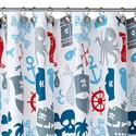 Best Kids Pirate Shower Curtain for the Pirate Bathroom Decor - great pirate ship shower curtains, cute pirate shower...