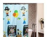 Best Kids Pirate Shower Curtain | Pirate Bathroom Decor