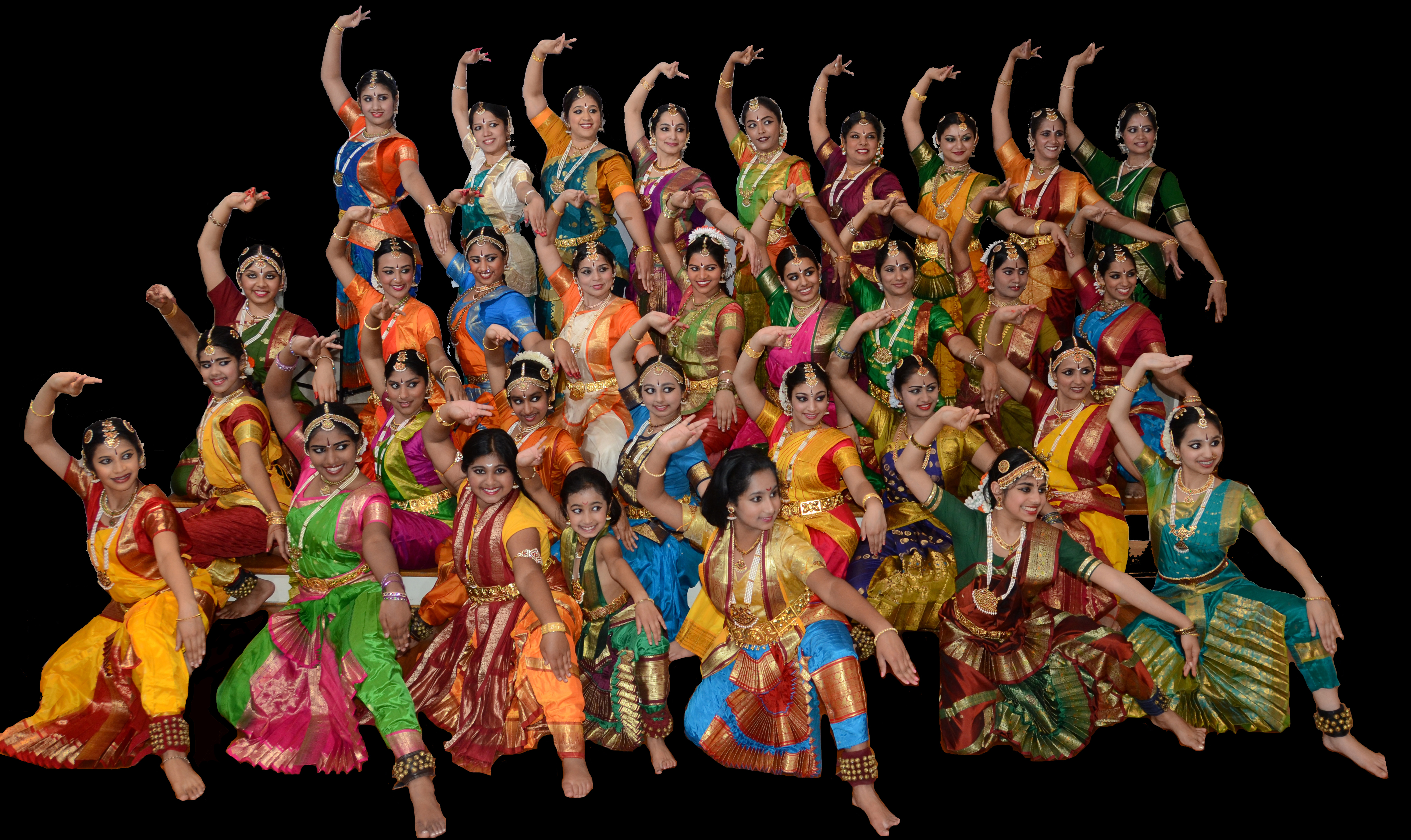 Headline for 10 Classical Indian Dancers