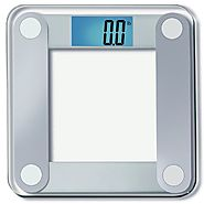 Eatsmart Precision Digital Bathroom Scale with Extra Large Backlit 3.5-inch Display and Step-on Technology