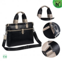 Mens Black Leather Business Bags CW901535 - m.cwmalls.com