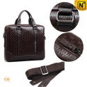 Men Brown Leather Satchel Bags CW980003 – CWMALLS.COM
