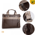 Men Leather Business Briefcase Handbags CW901514 - CWMALLS.COM