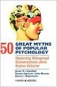 50 myths of popular psychology