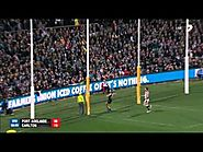 Matt White sensational running goal - Round 22, 2014 v Carlton