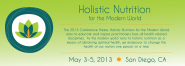 May 3-5 NANP Holistic Nutrition for the Modern World San Diego