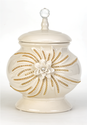 Classic White Stoneware Canisters 1303-0419