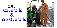 Best 5XL Coveralls and Bib Overalls for Men