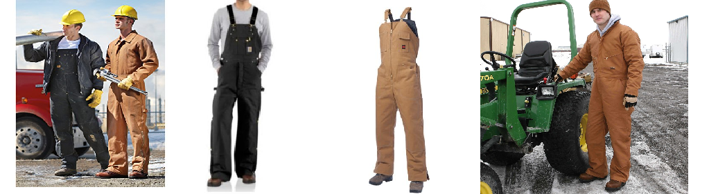 Headline for Quality Insulated Bib Overalls for Men - Sizes of XL XXL 3XL 4XL 5XL 6XL