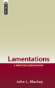 Lamentations by John L. Mackay