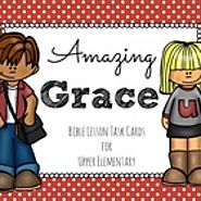 Bible Lesson Task Cards: Grace