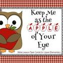 Bible Lesson Task Cards: Apple of His Eye