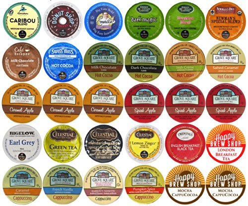 Headline for Coffee and Cappuccino K Cup Variety Packs
