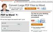 Convert PDF to Word Free Online