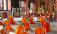 First learning center for Buddhist Monks