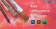 Key Difference Between Photoshop Illustrator and Corel Draw - Bonoboz.in