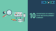 10 Advantages of Hiring a Good Web Development Company