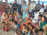 Chhattisgarh News: Back breaking labor, but demand wages had received threats