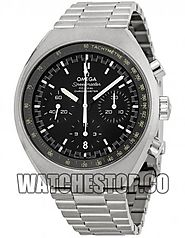 Replica Omega Speedmaster Mark II Chronograph Black Dial 327.10.43.50.01.001