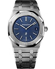 Replica Audemars Piguet Royal Oak Automatic Calibre 2121 Extra Thin Watch 15202ST.OO.1240ST.01