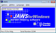 Jaws App for Windows