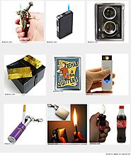 Best Unusual Cigarette Lighters 2016