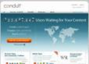 Conduit - Increase User Engagement & Web Traffic