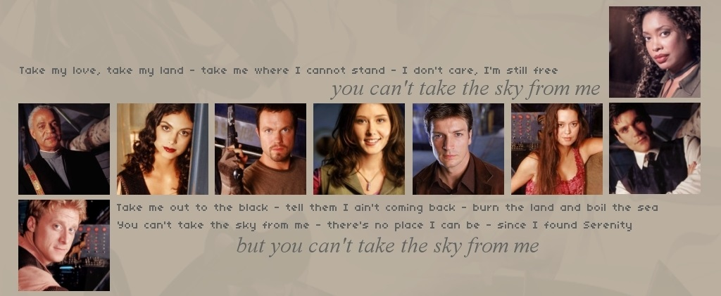Headline for Firefly : Favourite quotes of your favourite characters