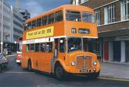 Cardiff Buses Used to Be Orange
