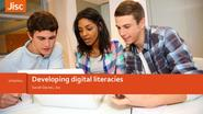 Developing digital literacies : Jisc