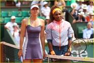serena williams and maria sharapova