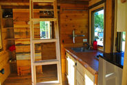 Tiny Rustic Cabin With Wheels and a Stunning Interior - Tiny House for Us