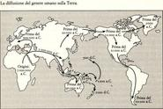 JOURNEY OF MANKIND - The Peopling of the World