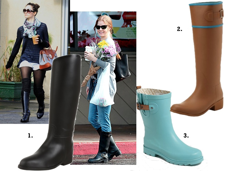 Headline for Most Comfortable Stylish Rubber Rain Boots For Women - Reviews and Ratings 2017