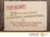 Top Social Media, Marketing and Publicity Resources of 2012 | http://www.toprankblog.com/pdf/29-content-marketing-secrets-ebook.pdf