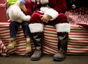Malls offering sensory-friendly way for special-needs kids to meet Santa