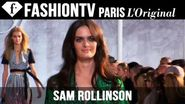 Model Sam Rollinson | Beauty Trends for Spring/Summer 2015 | FashionTV
