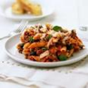 Penne with Turkey Meat Sauce