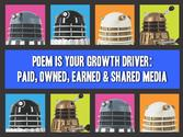 Live by the POEM: Paid, Owned, Earned & Shared Media is your Growth driver