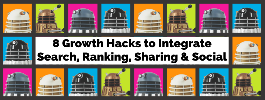 Headline for 8 Search Growth Hacks to Blend SEO AND Social Skills