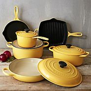 Le Creuset Cookware Set in Honey - Kitchen Things