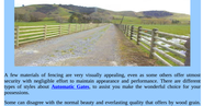 Good Quality & Design of Residential Fencing