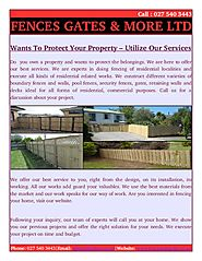 Residential fencing with Max Steel in Hamilton