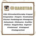 Descriptor Hashtags for photo (Instagram, objects in photo)