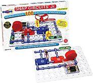 Snap Circuits Jr. SC-100 Electronics Discovery Kit (Age 8 and up)