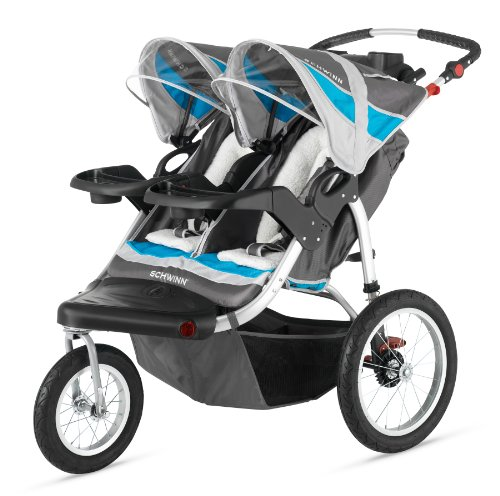 Headline for Best Double Jogging Strollers for Running
