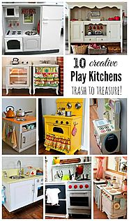 10 DIY Play Kitchen Ideas