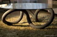 Toroid Table by OL! Os Loucos | Damn It's Awesome !!!