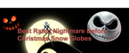 Nightmare beforchristmas snowglobe