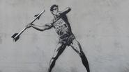 Banksy 'Enters' the Olympics